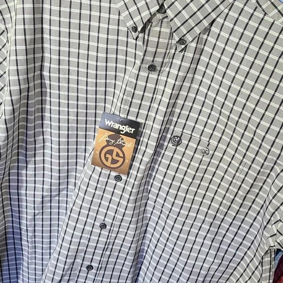 Mens Wrangler George Strait Shirt